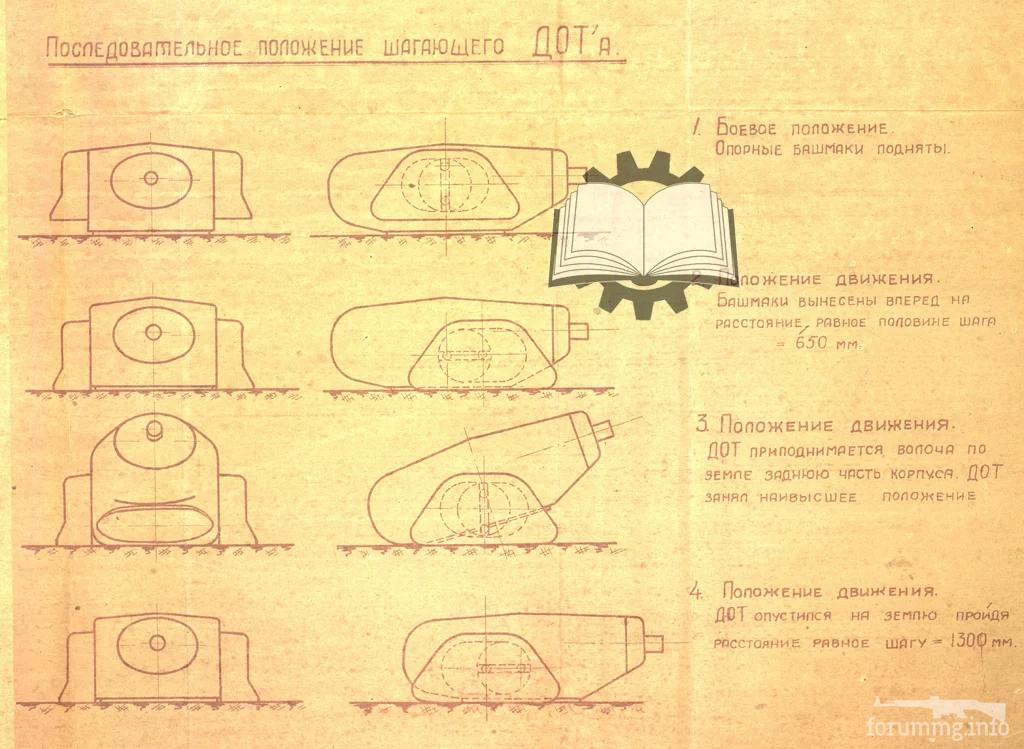 114042 - Принцип передвижения данной конструкции. 2 км/ч ей было вполне достаточно.