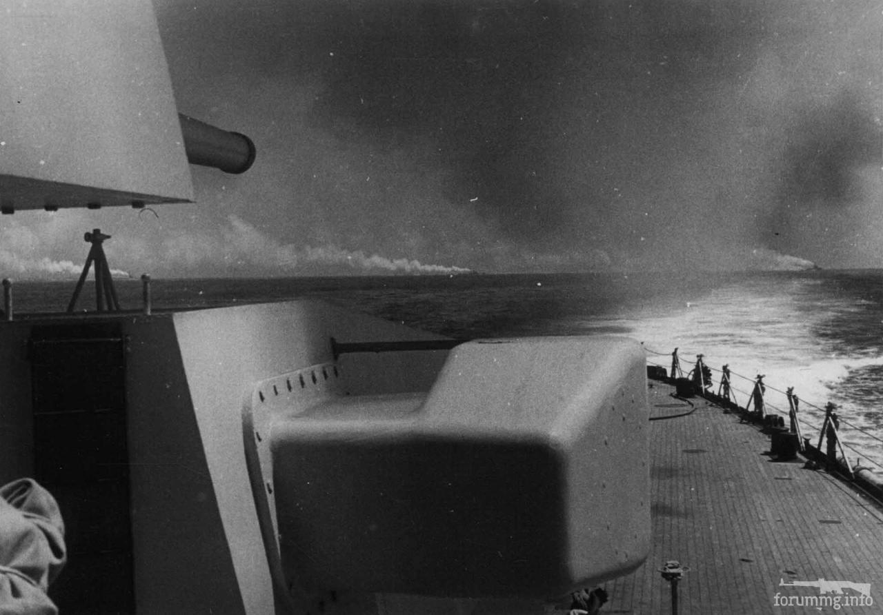 115956 - Кормовые башни тяжелого крейсера типа Zara