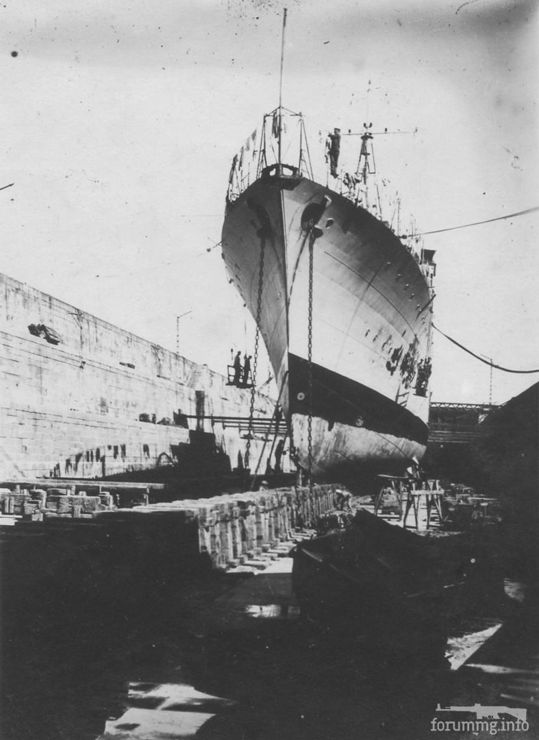 115957 - Эсминец Guepard в доке Лориана, 1928 г.