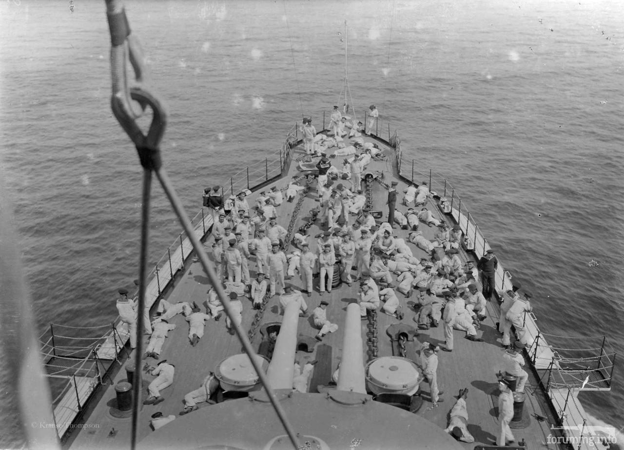 115962 - На баке броненосного крейсера SMS Gneisenau