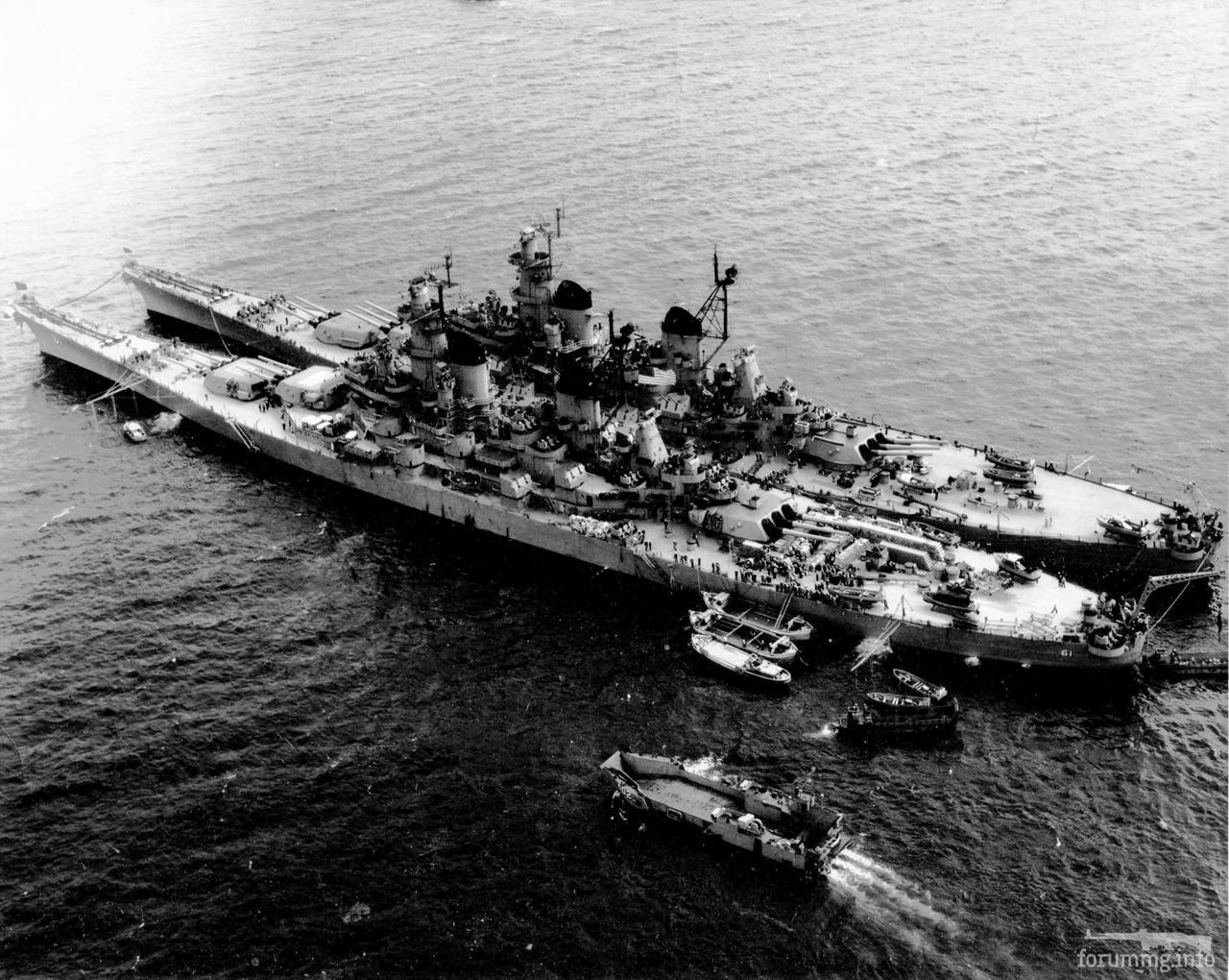 115964 - USS Iowa (BB-61) и USS Missouri (BB-63)