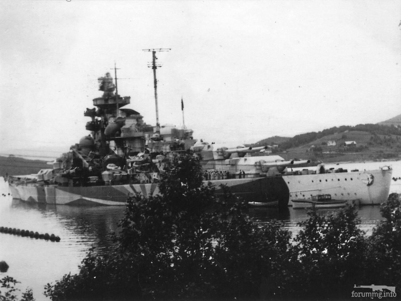 115965 - Линкор Tirpitz, 1942 г.