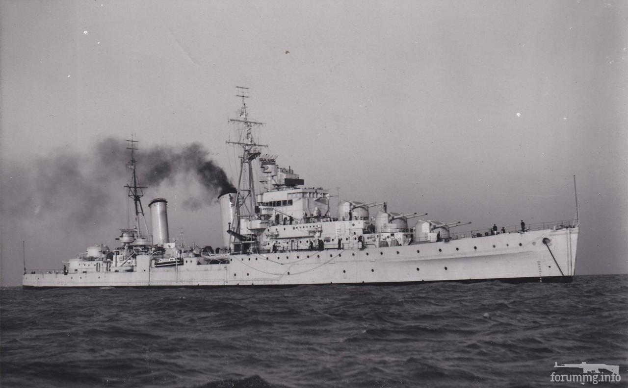116356 - Легкий крейсер HMS Dido в 1946 г.