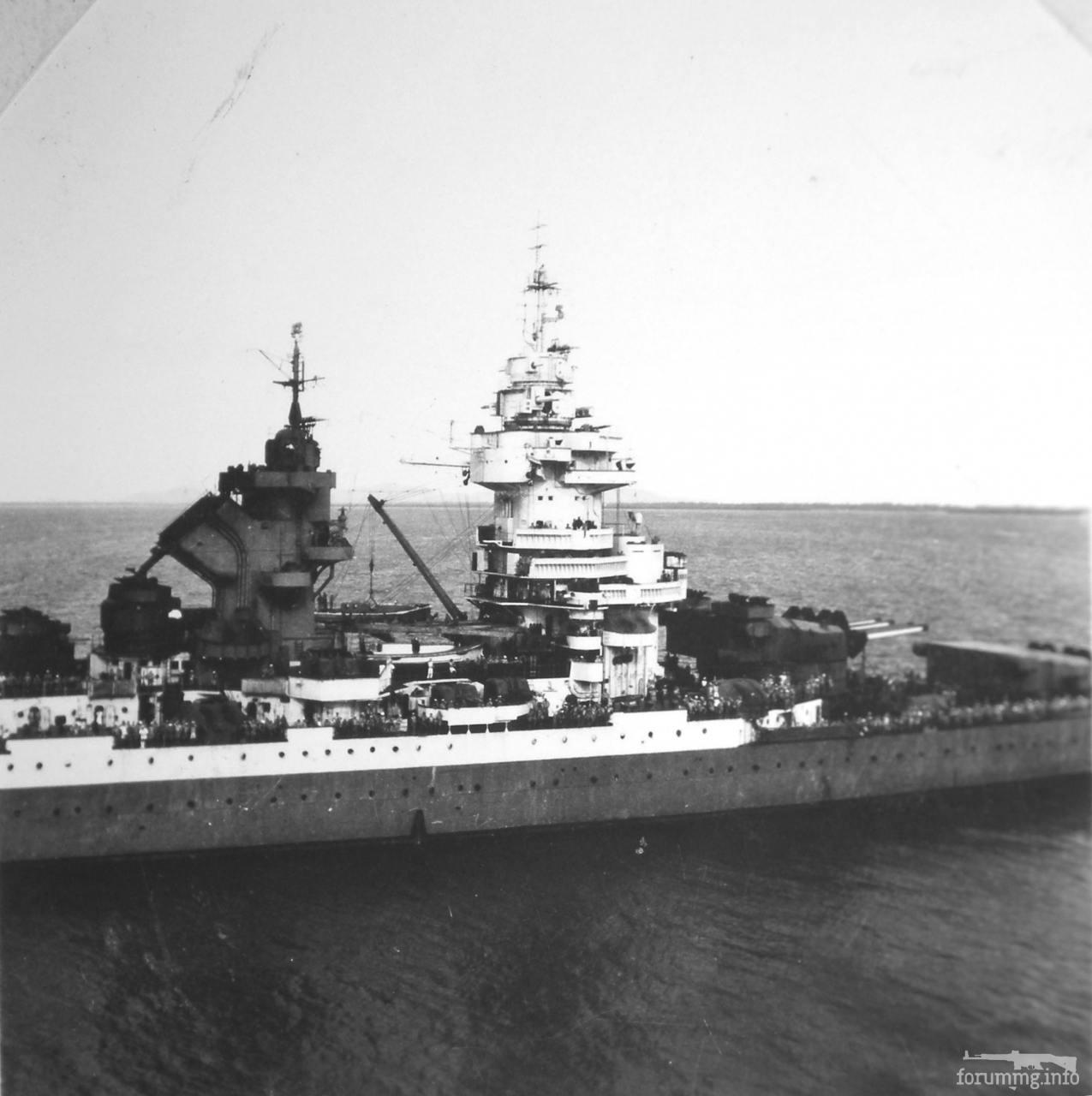 116614 - Линкор Richelieu в Индокитае, 1945 г.