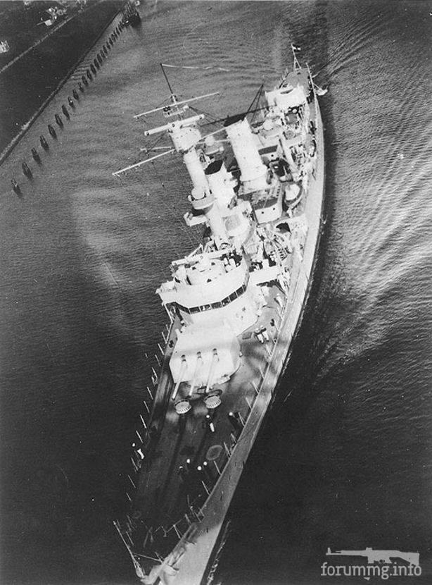 116618 - Легкий крейсер Köln в Кильском канале, 1935 г.