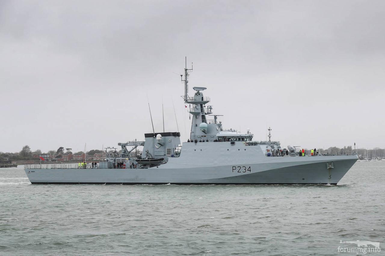 116628 - Патрульный корабль HMS Spey (P234)