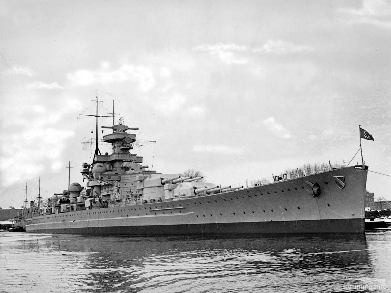 117402 - Линкор Scharnhorst, 1939 г.