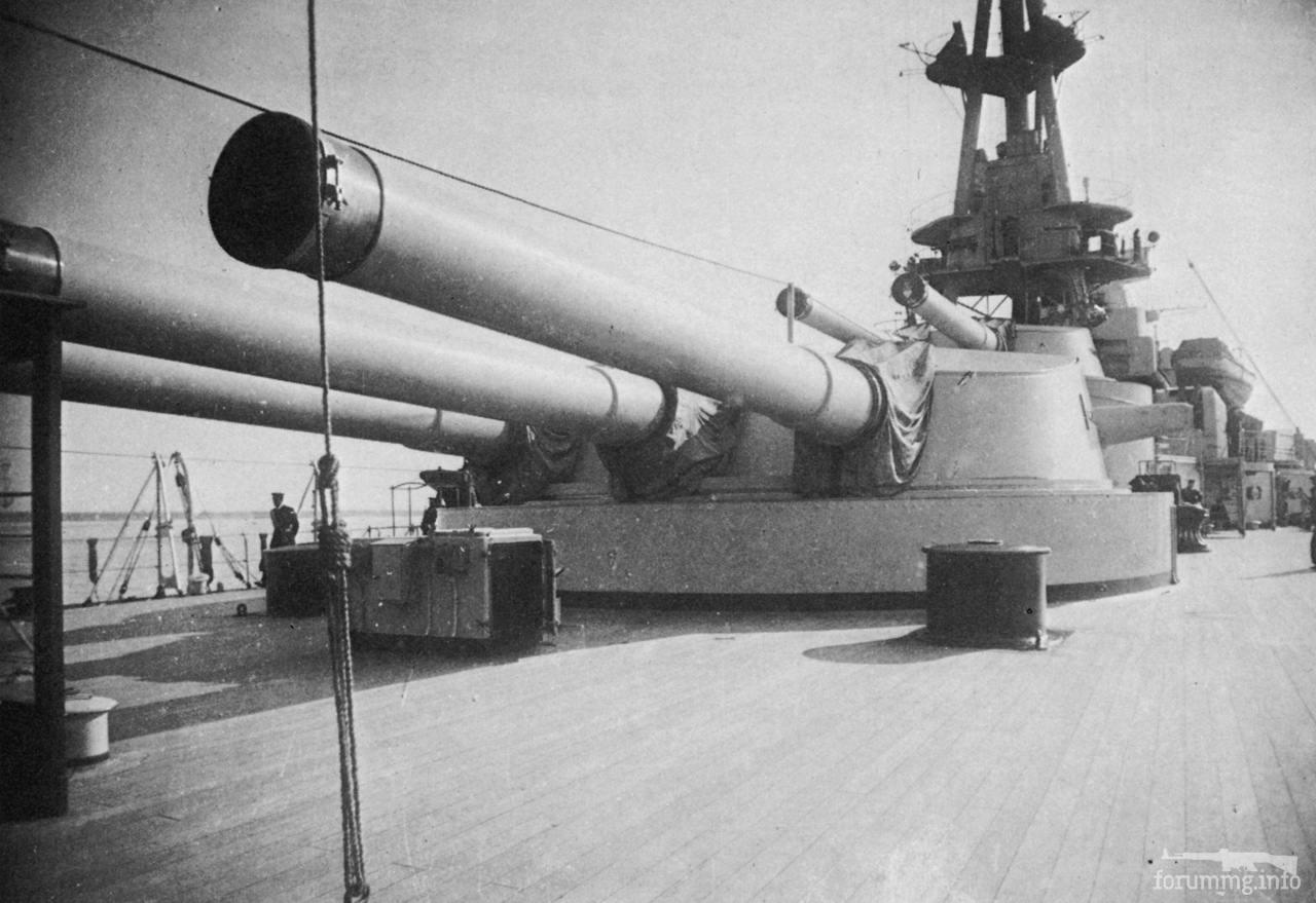 117414 - Кормовые башни линкора Conte di Cavour