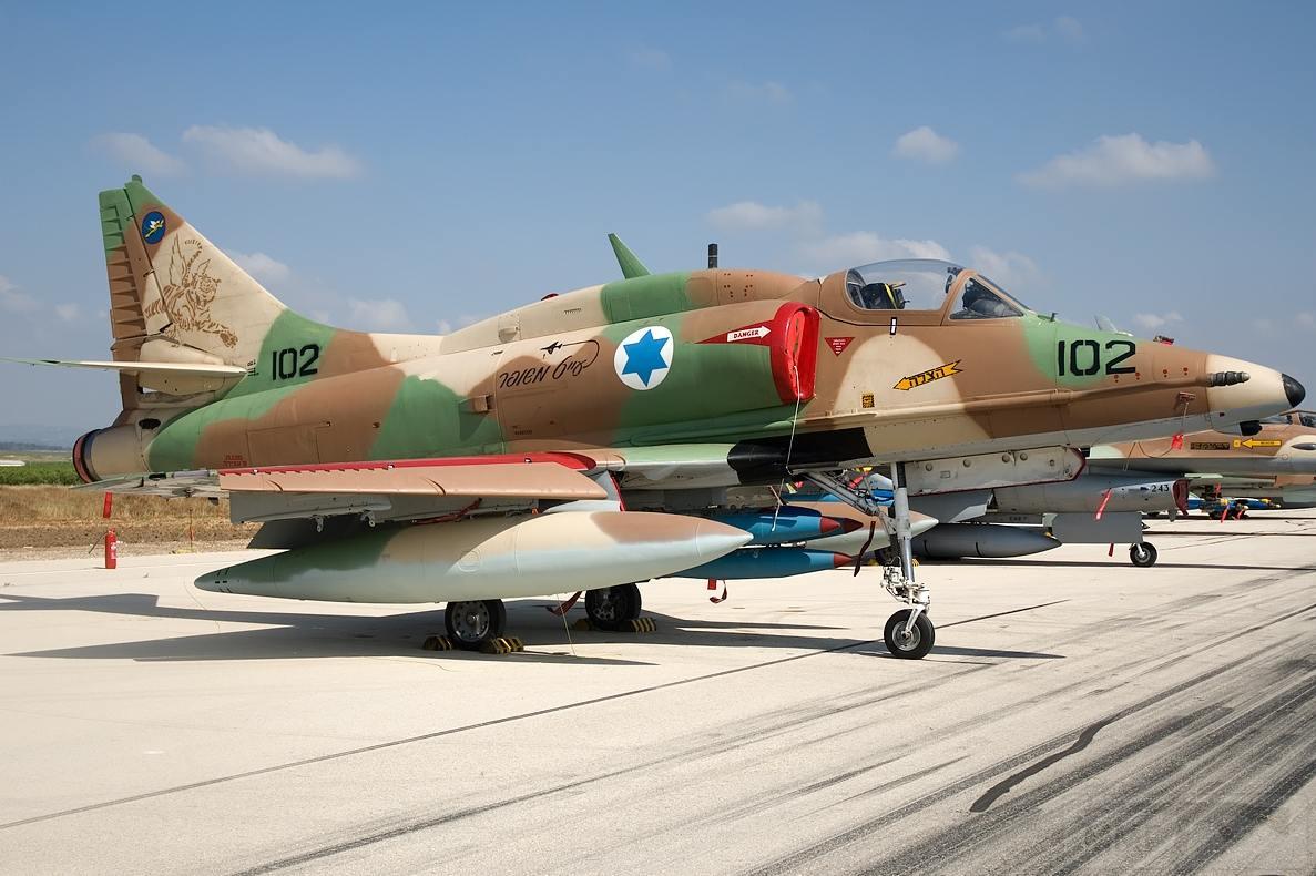 11792 - ВВС Израиля в бою