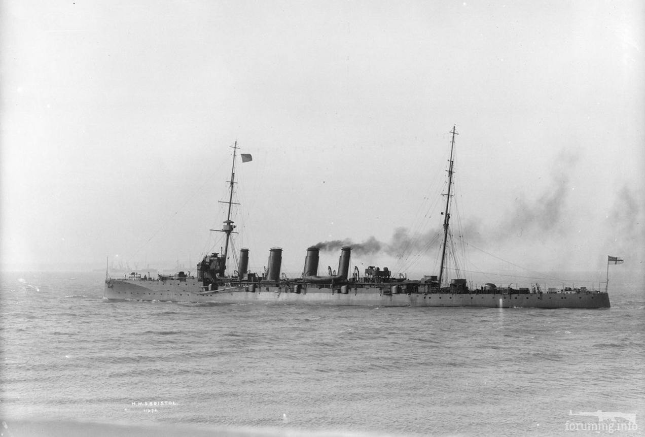 118039 - Легкий крейсер HMS Bristol