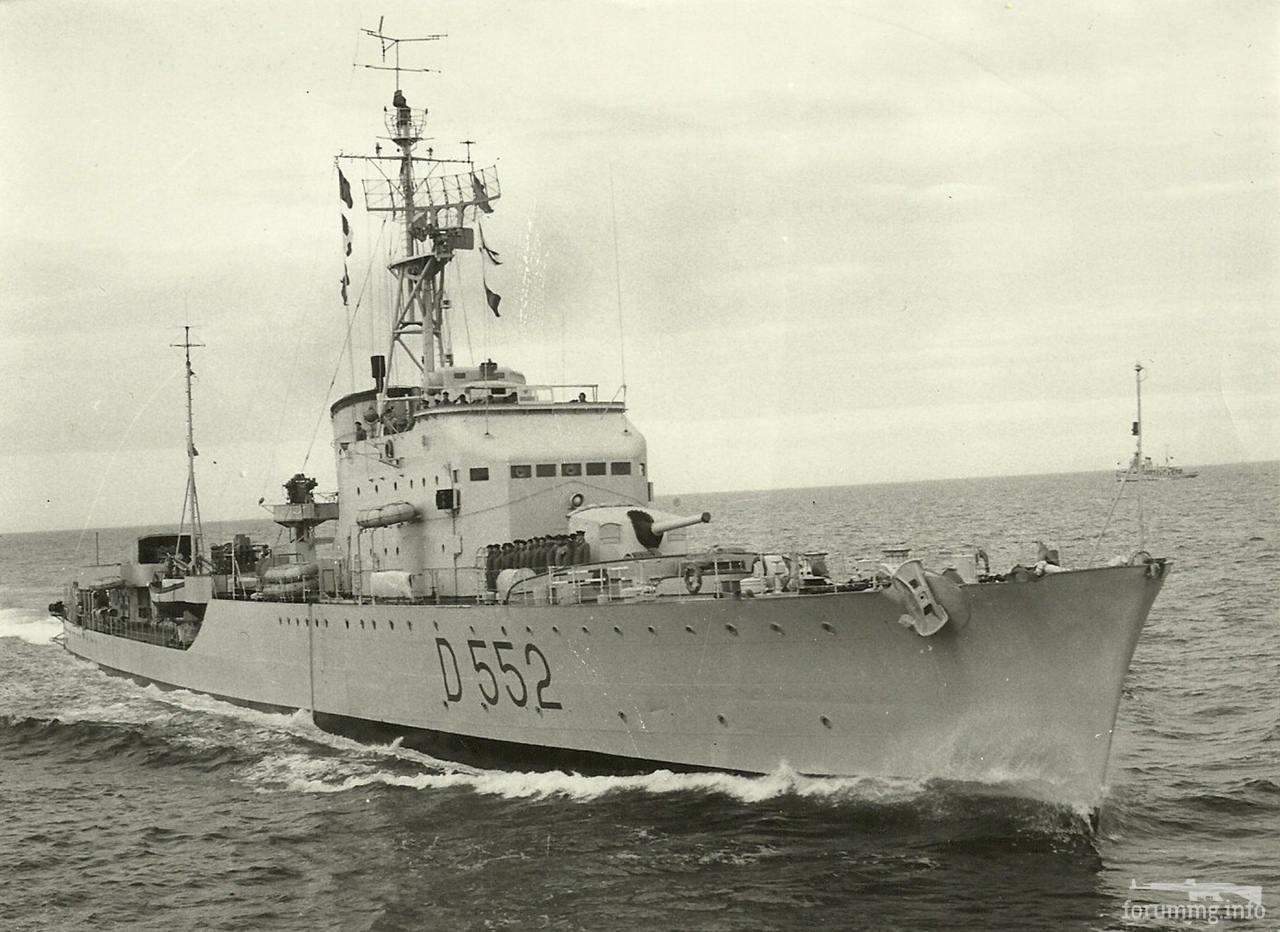 118045 - Эсминец Grecale, 1958 г.