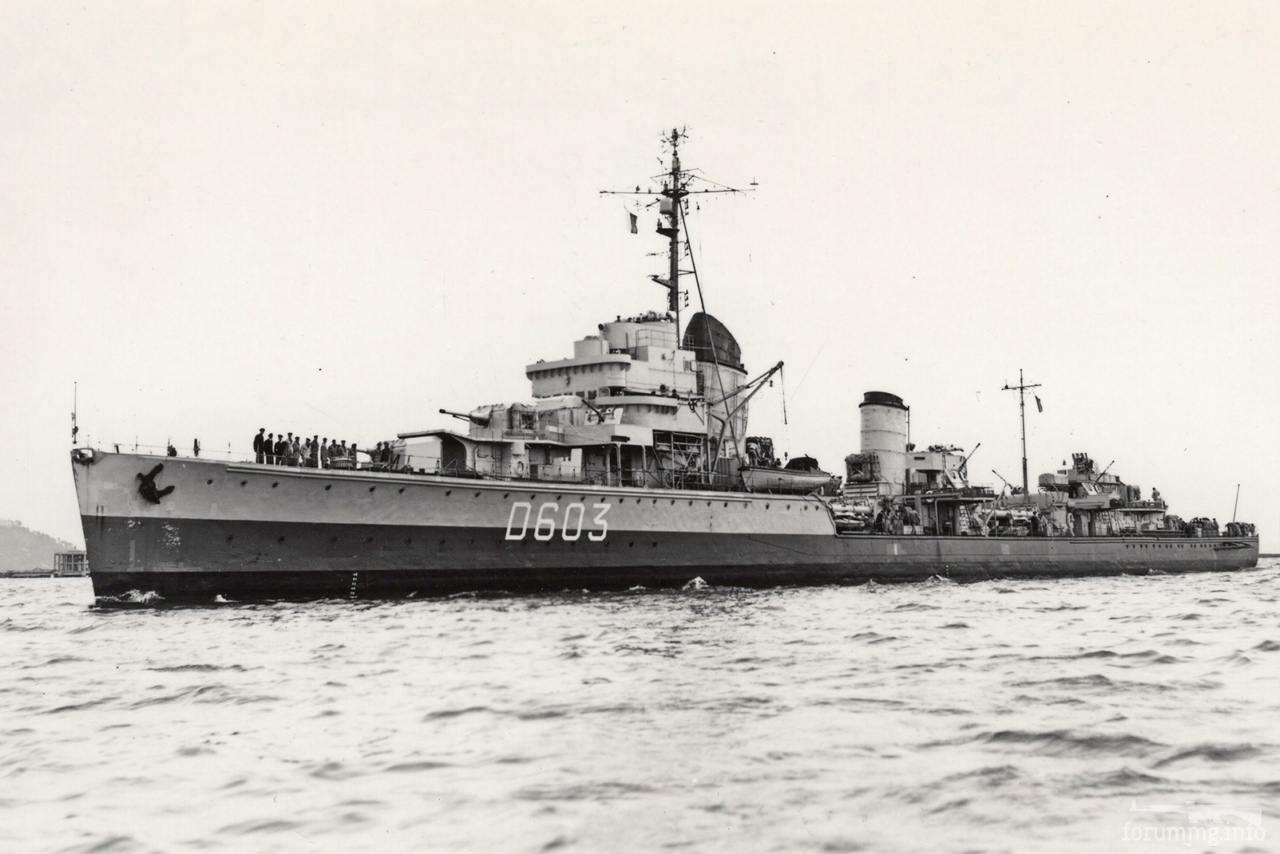 118218 - Эсминец Kleber (D603) - бывший немецкий Z6 Theodor Riedel