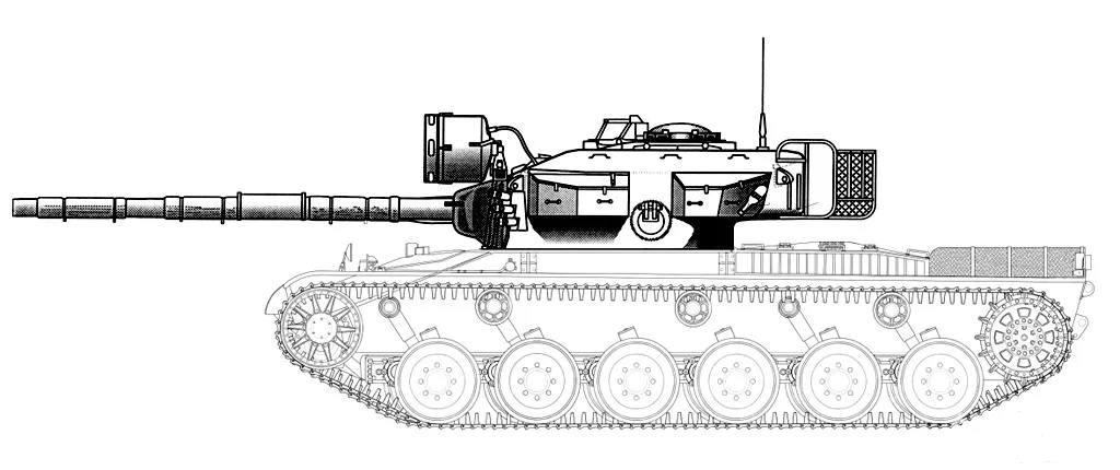 118254 - Реконструкция внешнего вида танка.