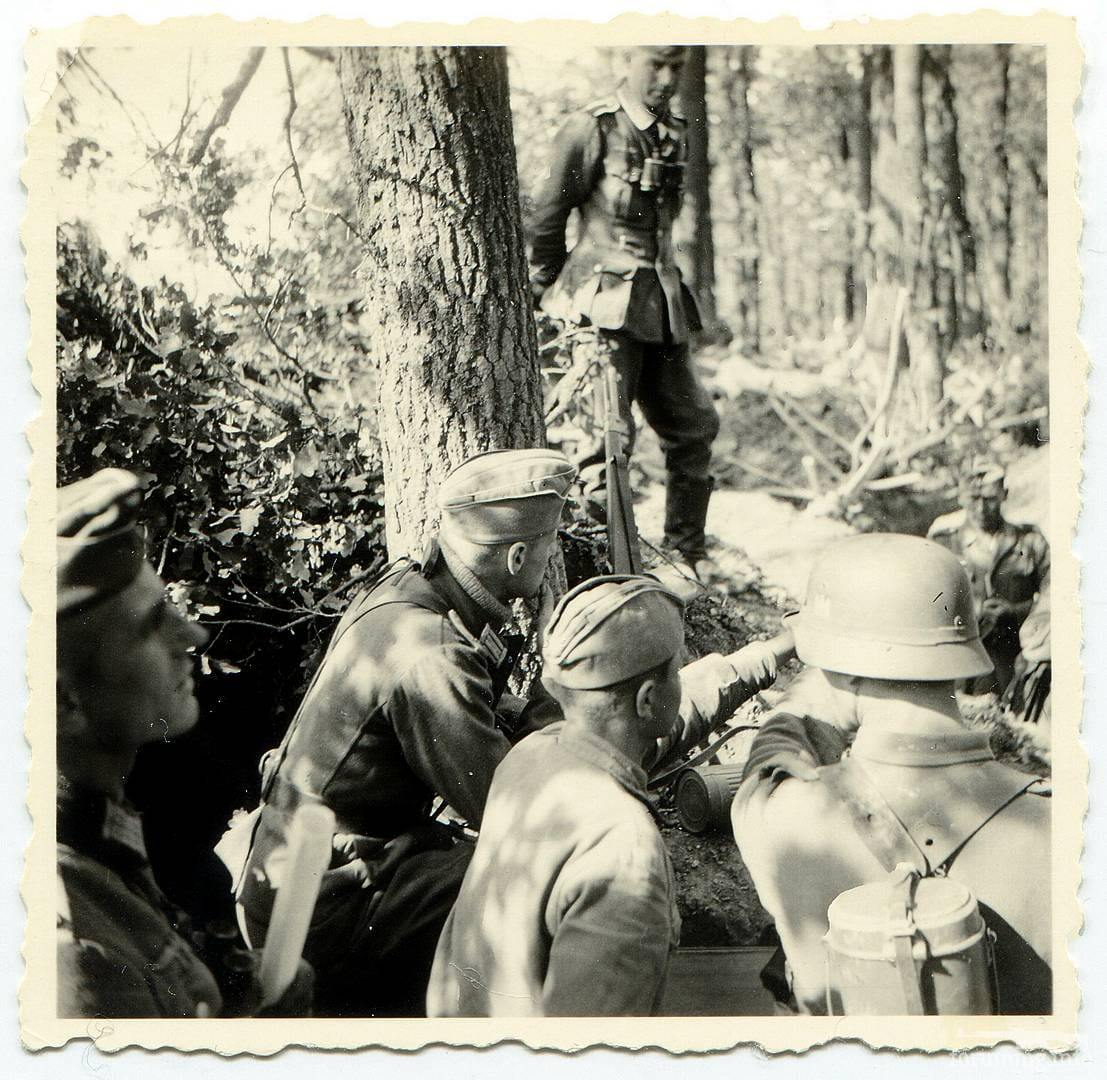 118394 - Лето 1941г,немецкие фото.