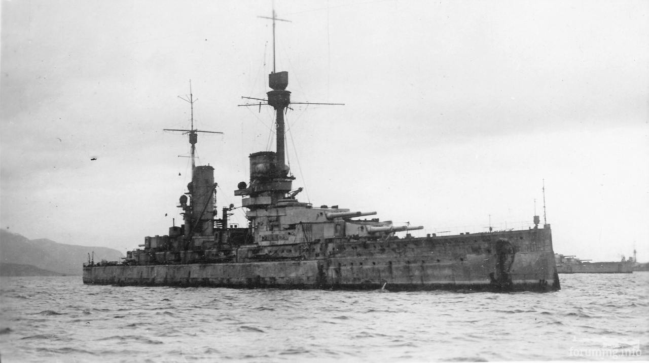 118530 - SMS Markgraf в Скапа-Флоу, 1919 г.