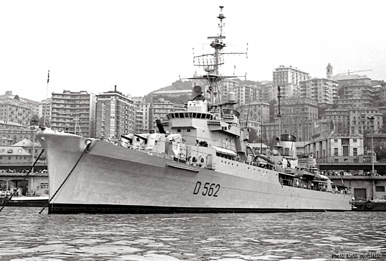 119147 - Эсминец San Giorgio в Генуе, 29 июня 1968 г.