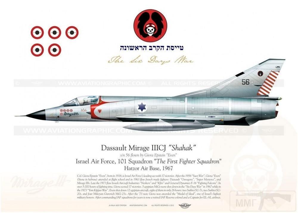 11927 - ВВС Израиля в бою