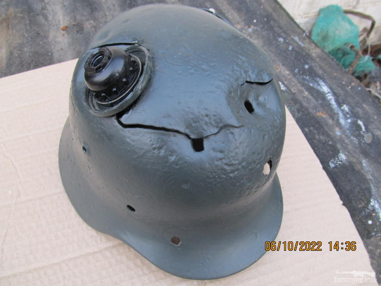119353 - Настінний світильник з німецької залізної шапки