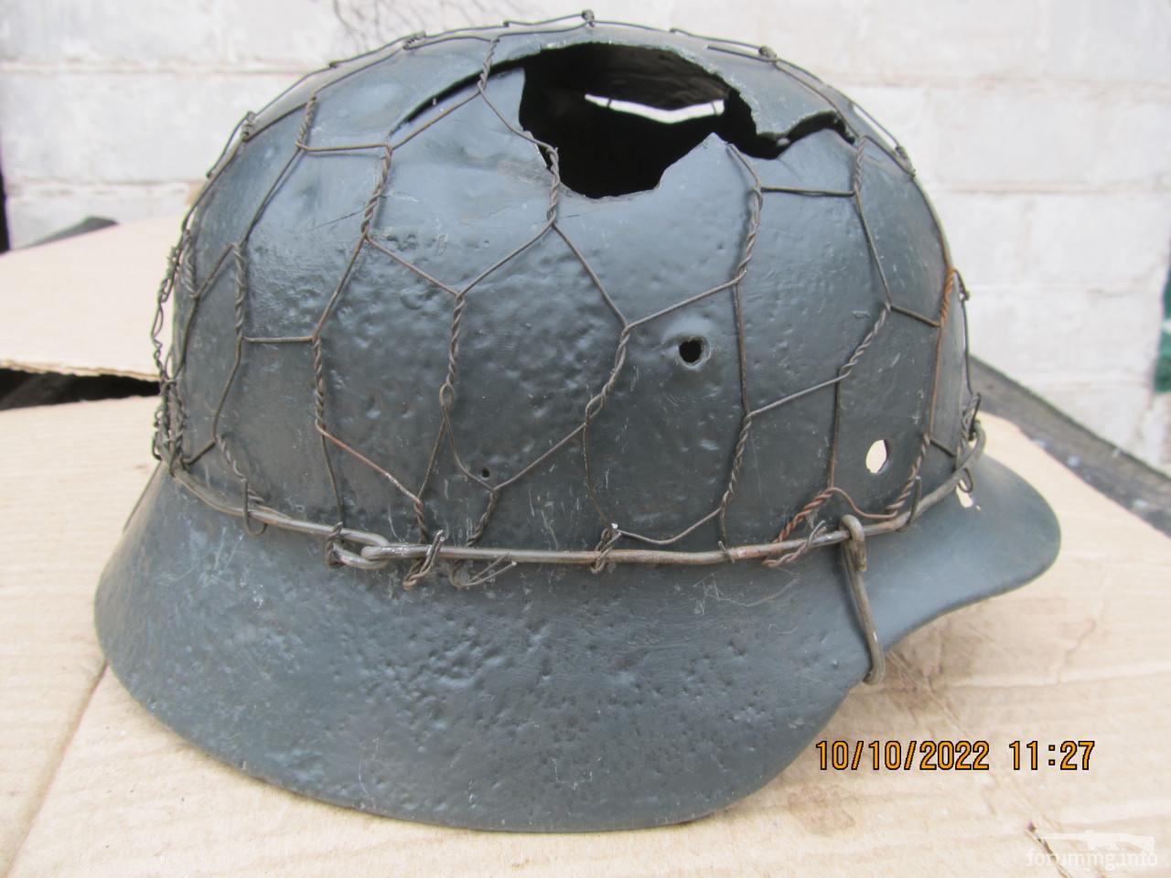 119358 - Настінний світильник з німецької залізної шапки
