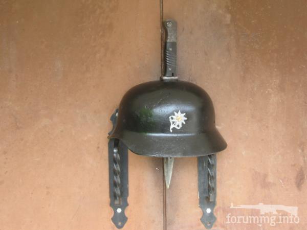 119596 - Настінний світильник з німецької залізної шапки