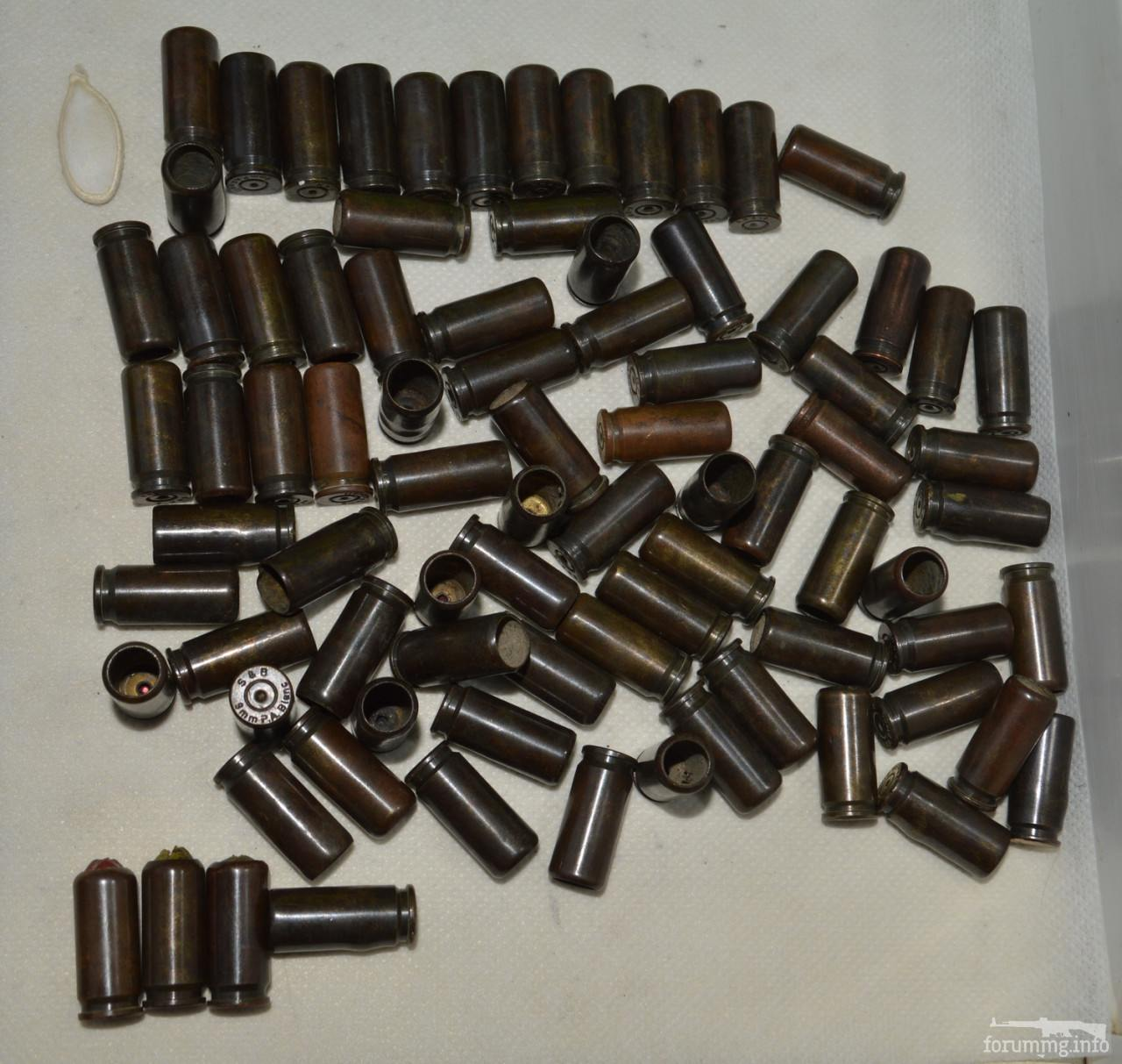 120192 - гильзы однострел латунь от патронов калибра 9mm 9 × 22 газ\травмат...разные