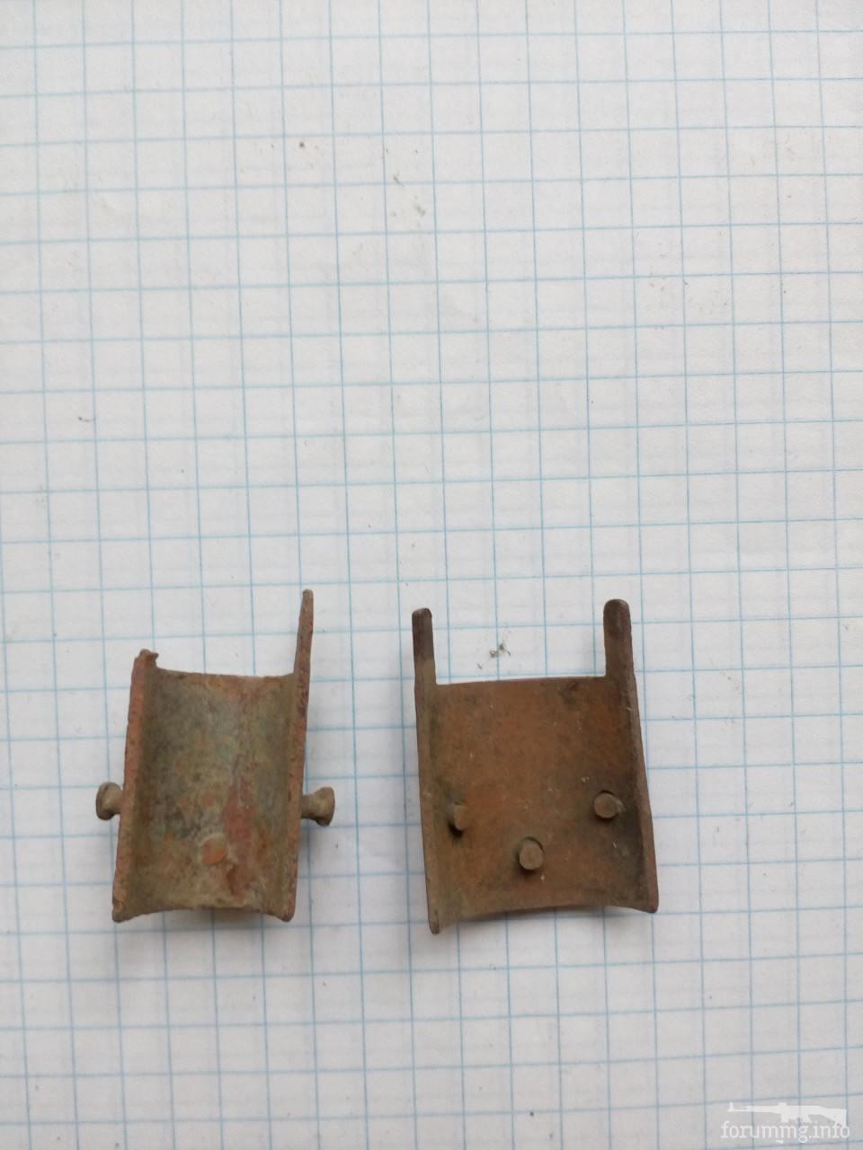 120201 - Наконечники с заклепками ствольной накладки винтовки Мосина образца 1891 года