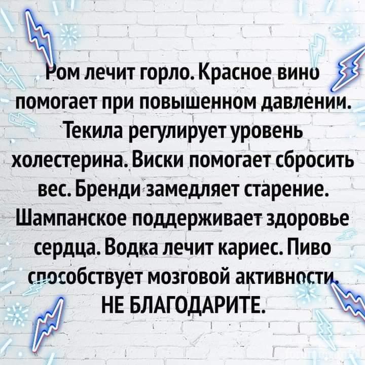 120266 - Пить или не пить? - пятничная алкогольная тема )))