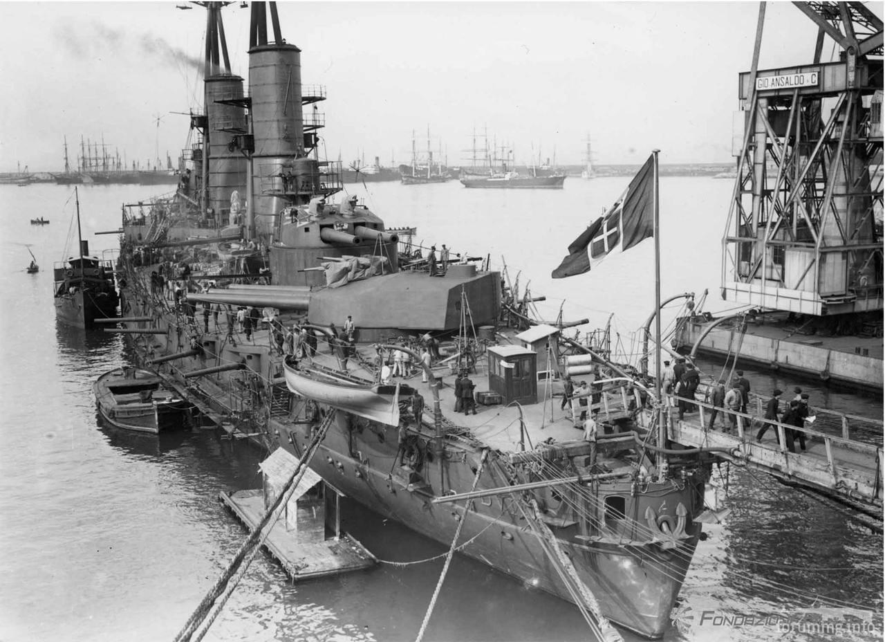 121068 - Regia Marina - Italian Battleships Littorio Class и другие...