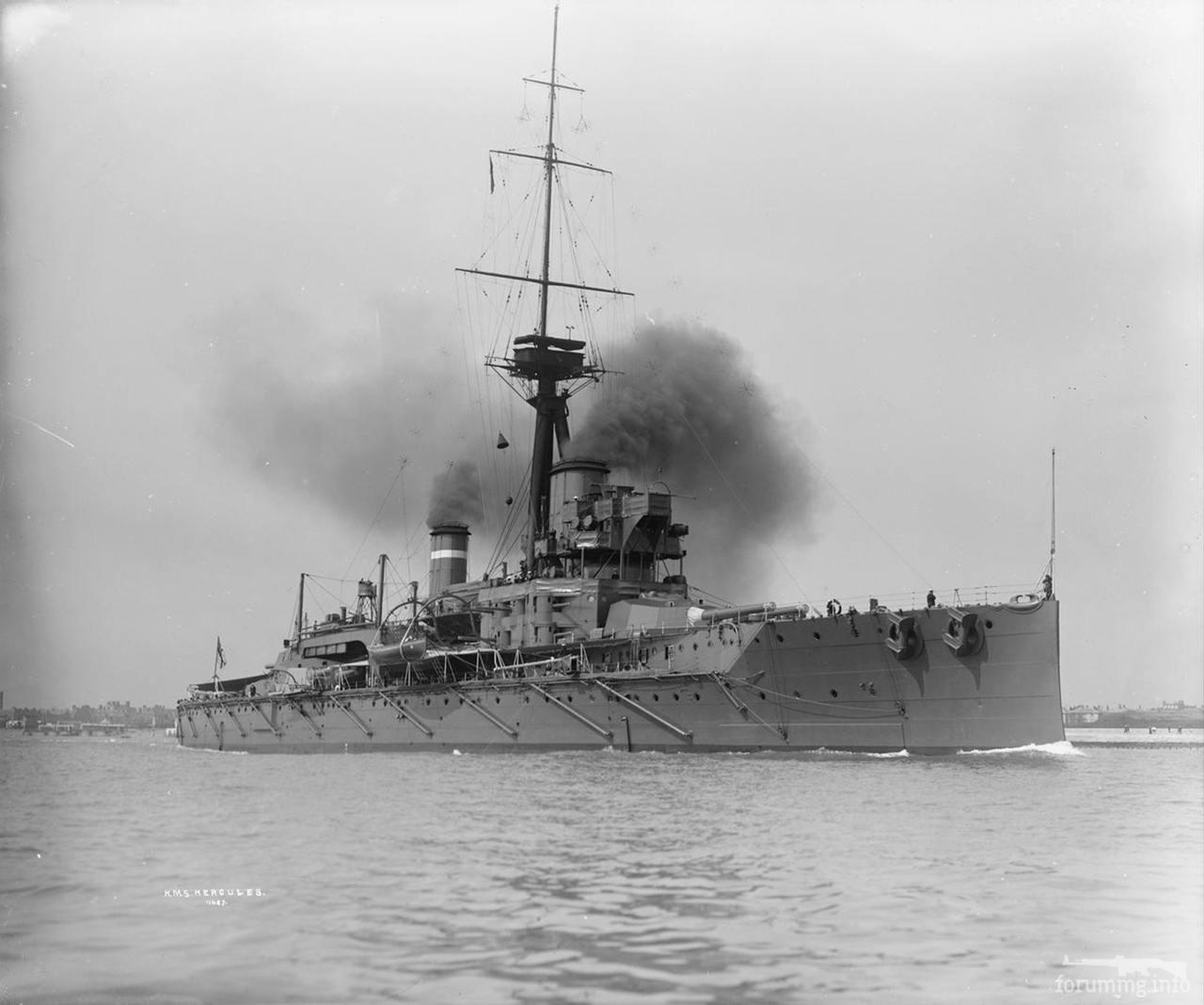 121320 - Броненосцы, дредноуты, линкоры и крейсера Британии