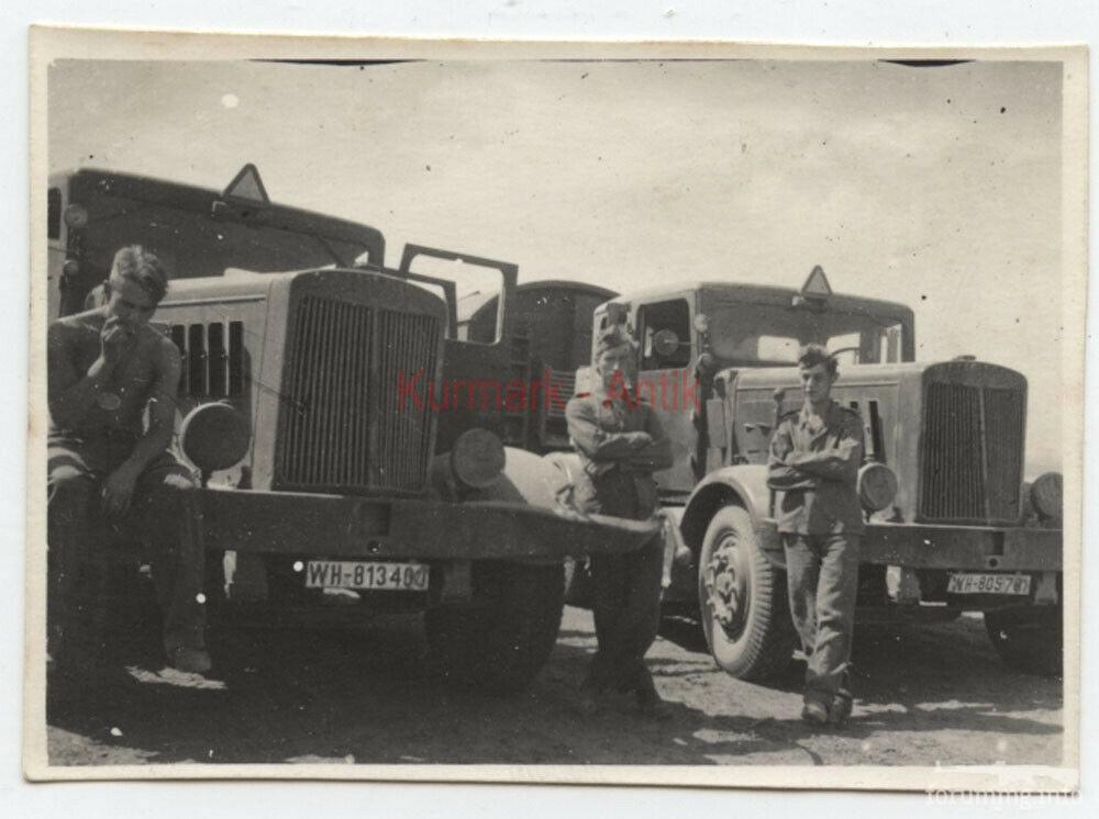 121590 - Грузовые и спец.автомобили Третьего рейха