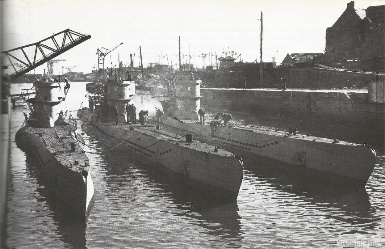 122684 - Действия немецких подлодок в Атлантике