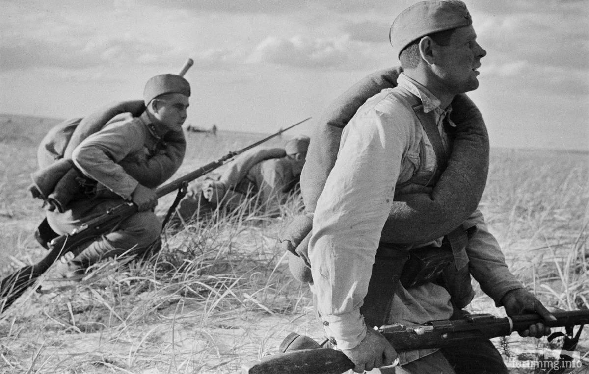 123297 - Военное фото 1941-1945 г.г. Восточный фронт.