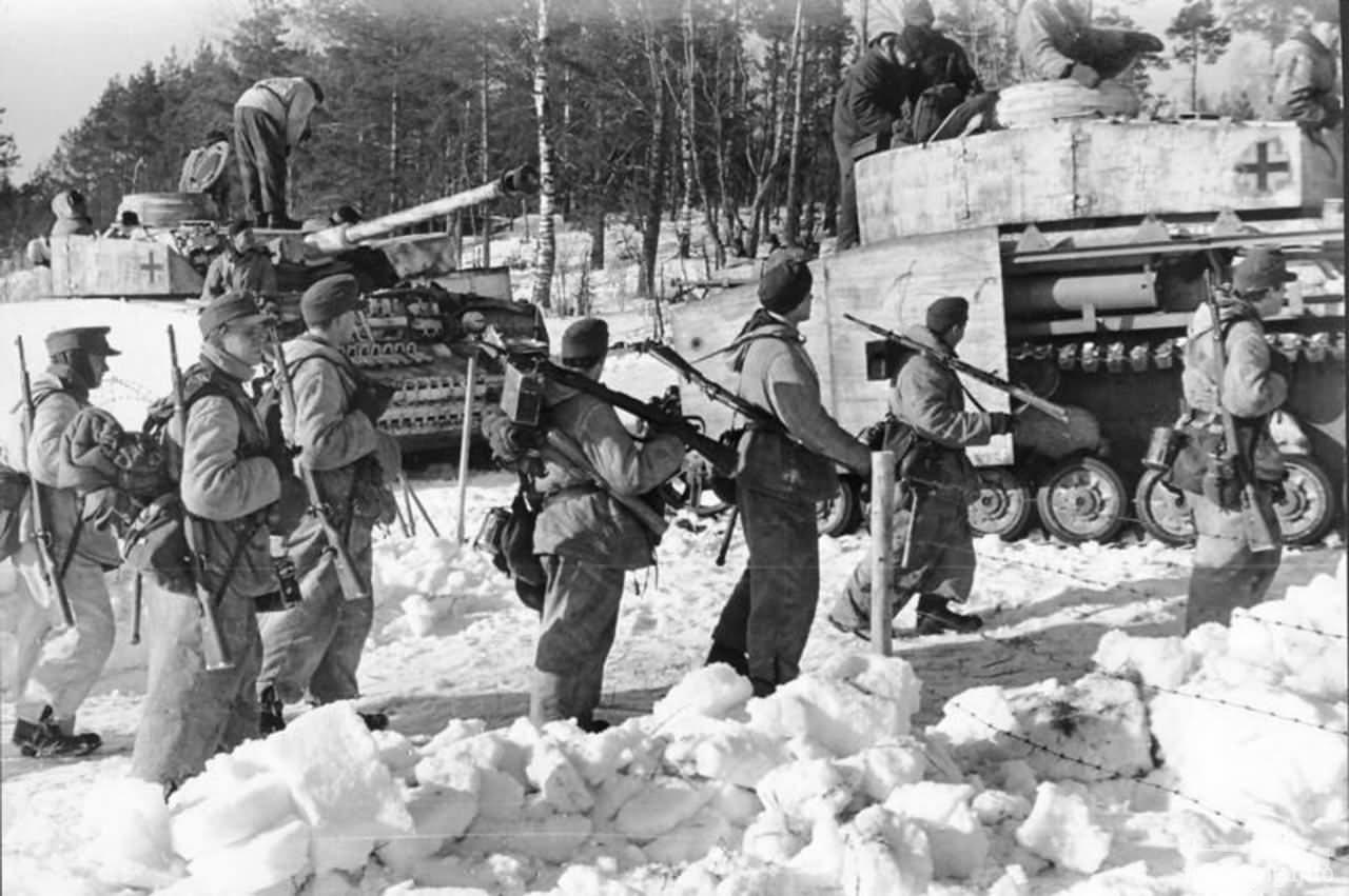 123402 - Военное фото 1941-1945 г.г. Восточный фронт.