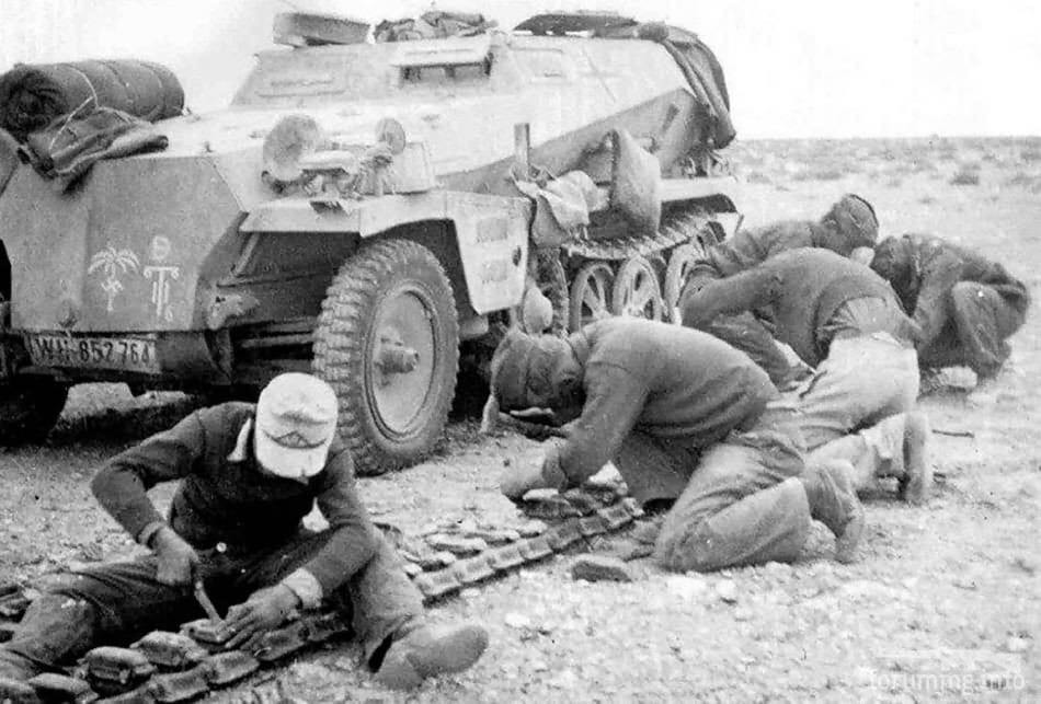 123404 - Военное фото 1939-1945 г.г. Западный фронт и Африка.