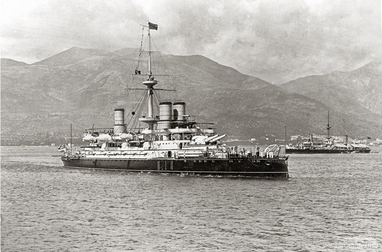 123716 - Regia Marina - Italian Battleships Littorio Class и другие...