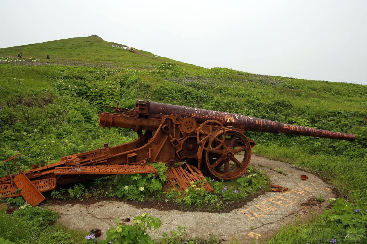 12381 - Корабельные пушки-монстры в музеях и во дворах...