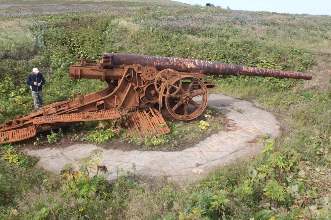 12382 - Корабельные пушки-монстры в музеях и во дворах...