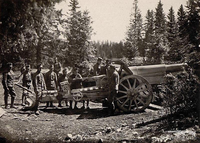 124447 - Артиллерия 1914 года