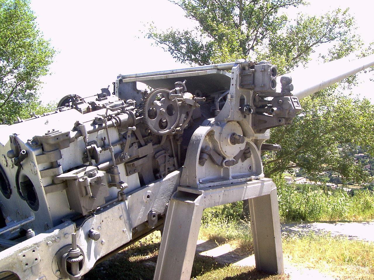 124619 - Корабельные пушки-монстры в музеях и во дворах...