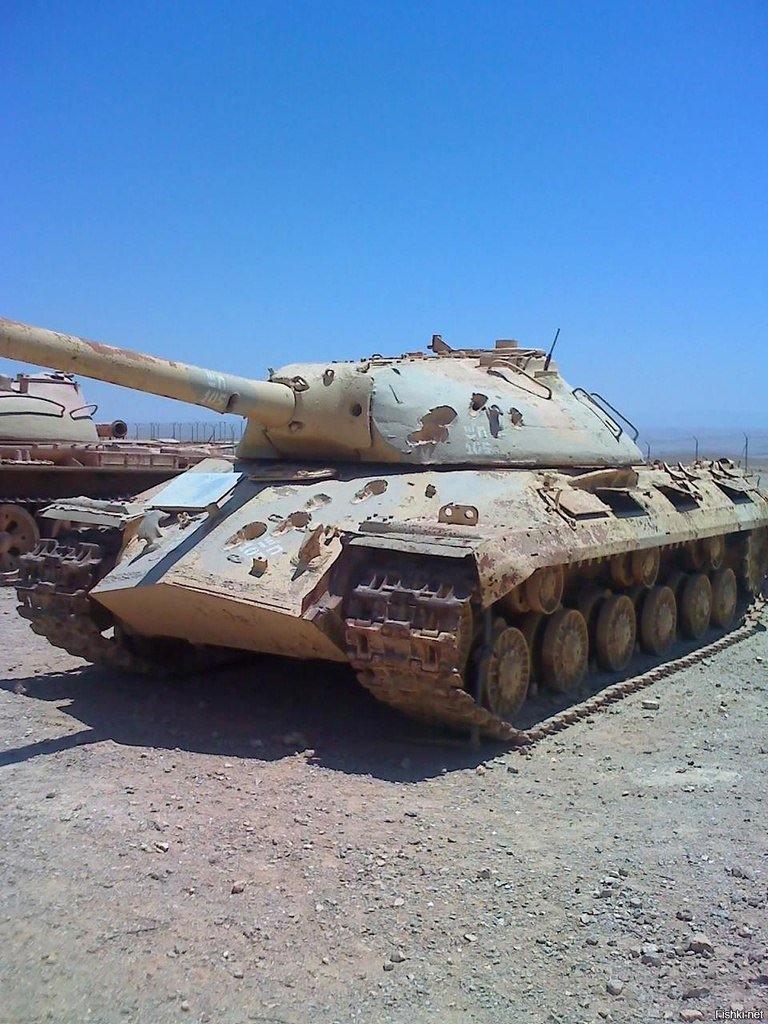12471 - Послевоенное использование советской бронетехники WW2