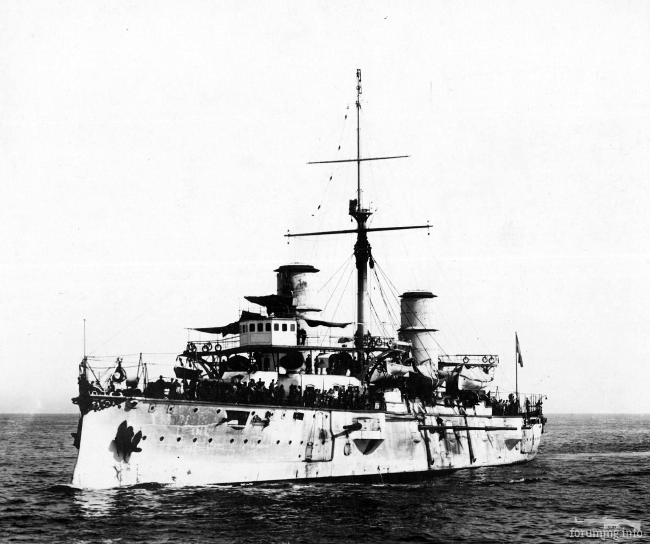 124828 - Аргентинский броненосный крейсер Pueyrredon