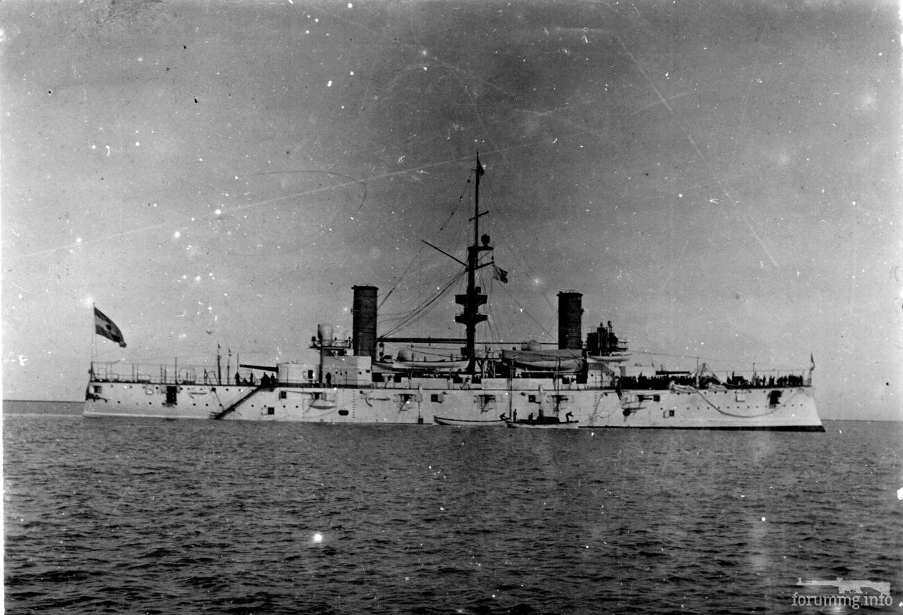 124829 - Аргентинский броненосный крейсер Pueyrredon