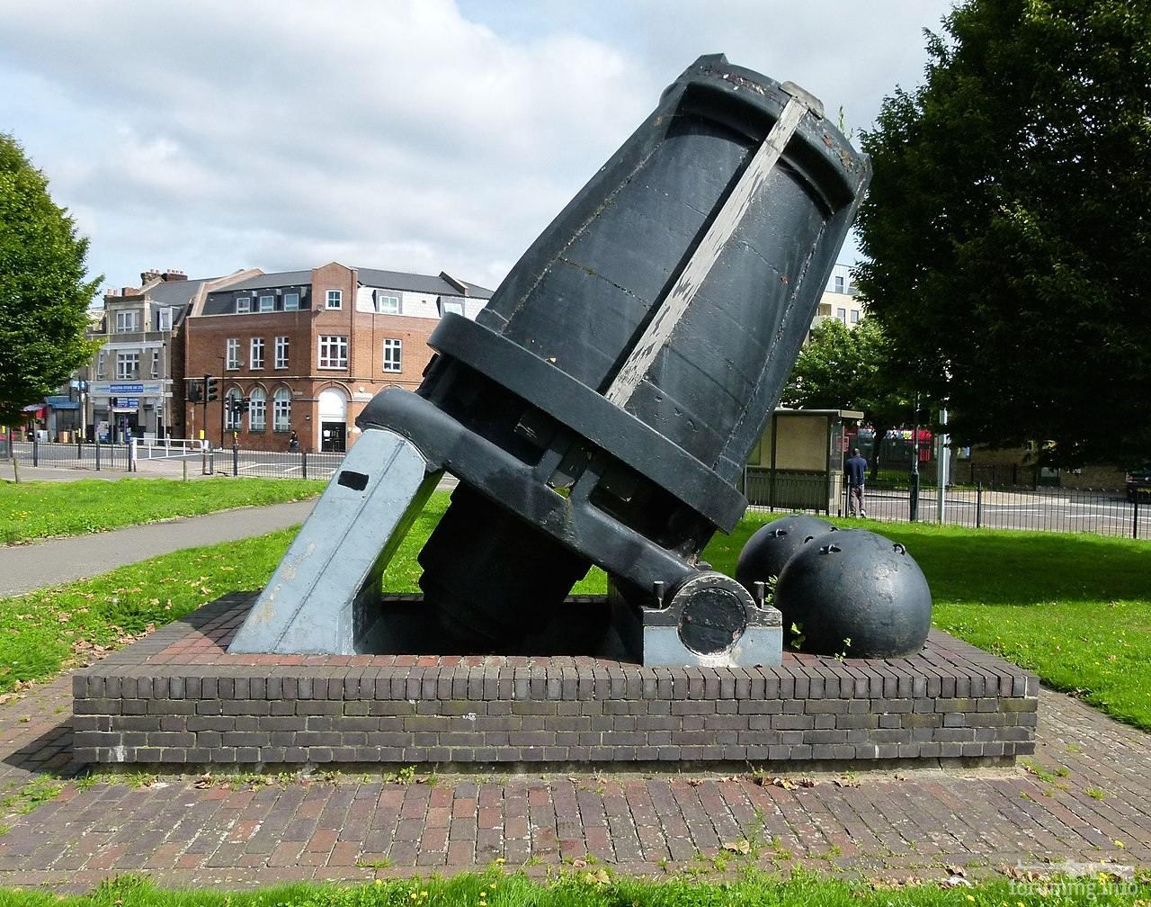 124842 - Корабельные пушки-монстры в музеях и во дворах...