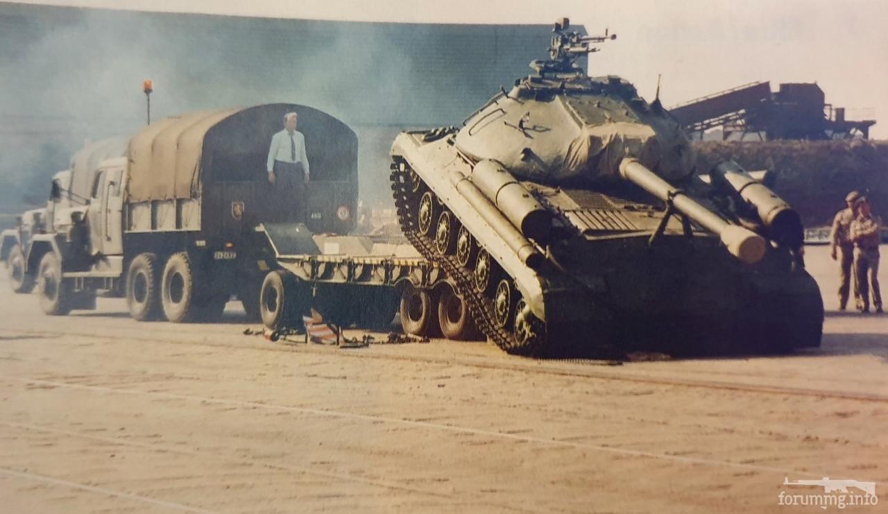 125082 - Послевоенное использование советской бронетехники WW2