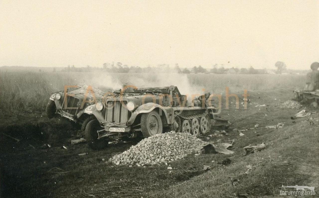 125121 - Военное фото 1941-1945 г.г. Восточный фронт.