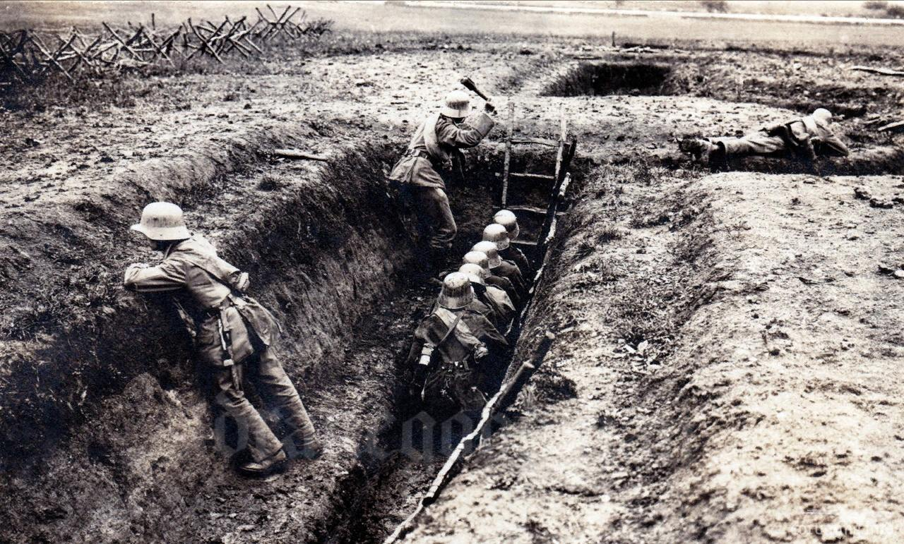 125165 - Военное фото. Западный фронт. 1914-1918г.г.