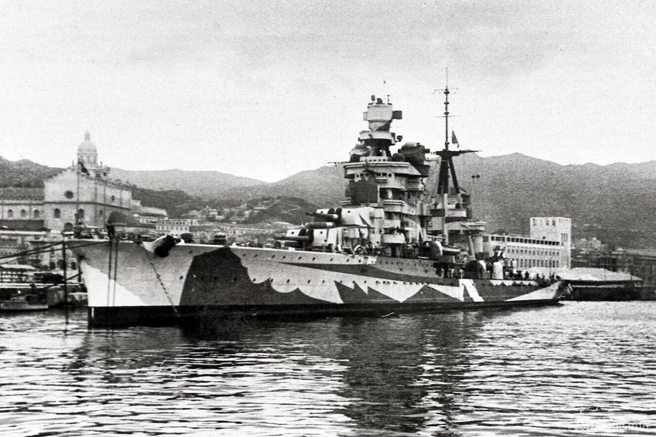 125413 - Regia Marina - Italian Battleships Littorio Class и другие...