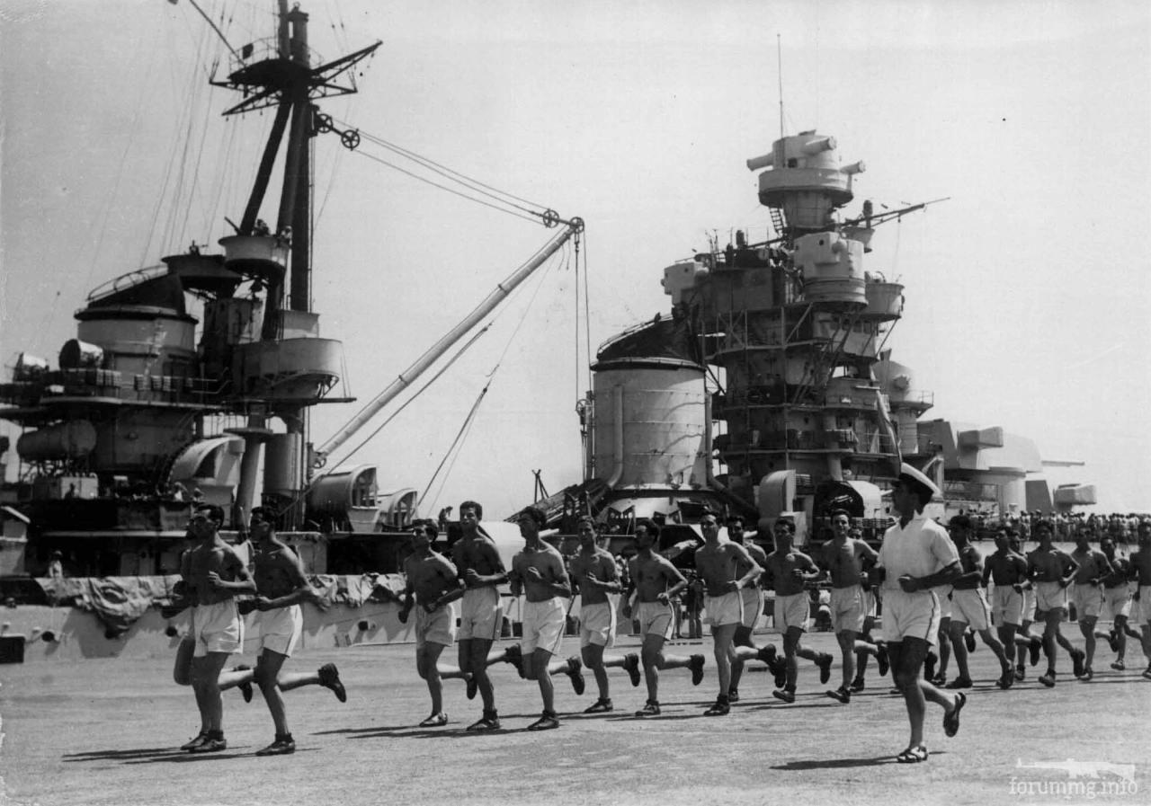 125417 - Regia Marina - Italian Battleships Littorio Class и другие...