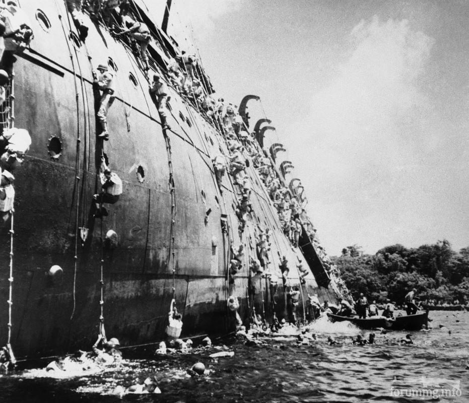 125850 - Военное фото 1941-1945 г.г. Тихий океан.