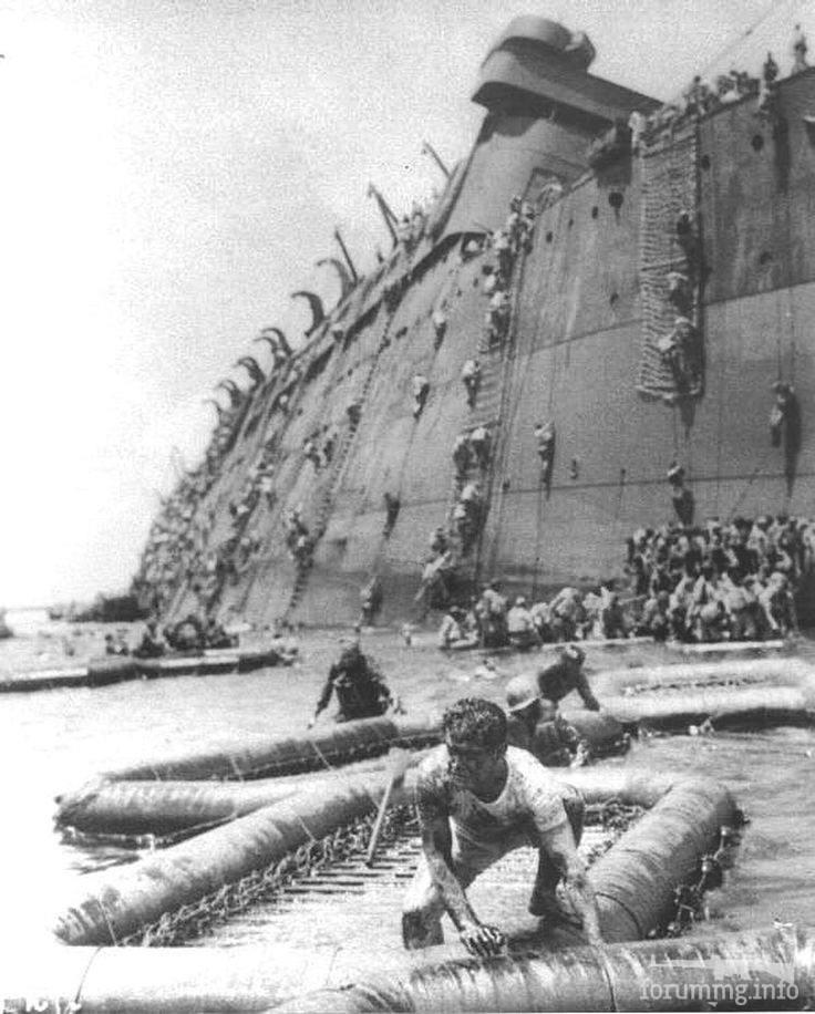 125852 - Военное фото 1941-1945 г.г. Тихий океан.